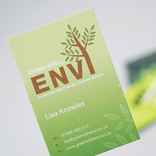 300gsm uncoated business cards image