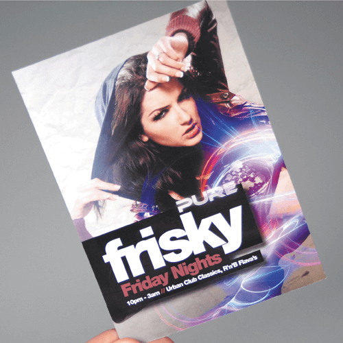 280gsm gloss flyer images