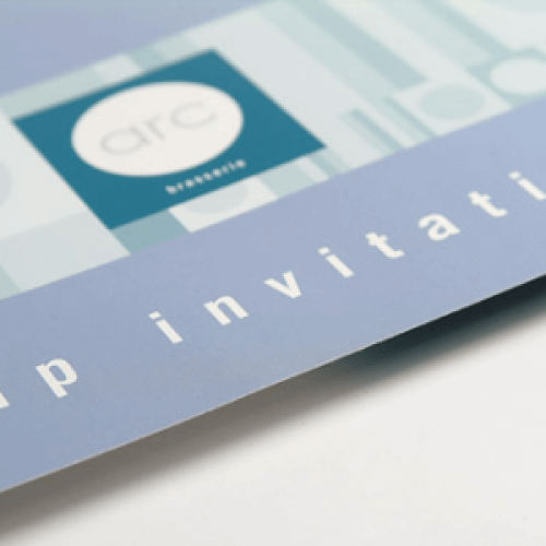 Invitations printing glasgow print design specialist 400gsm silk invitations stopboris Image collections